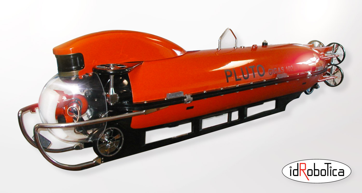 PLUTO GIGAS – top performance minehunting ROV