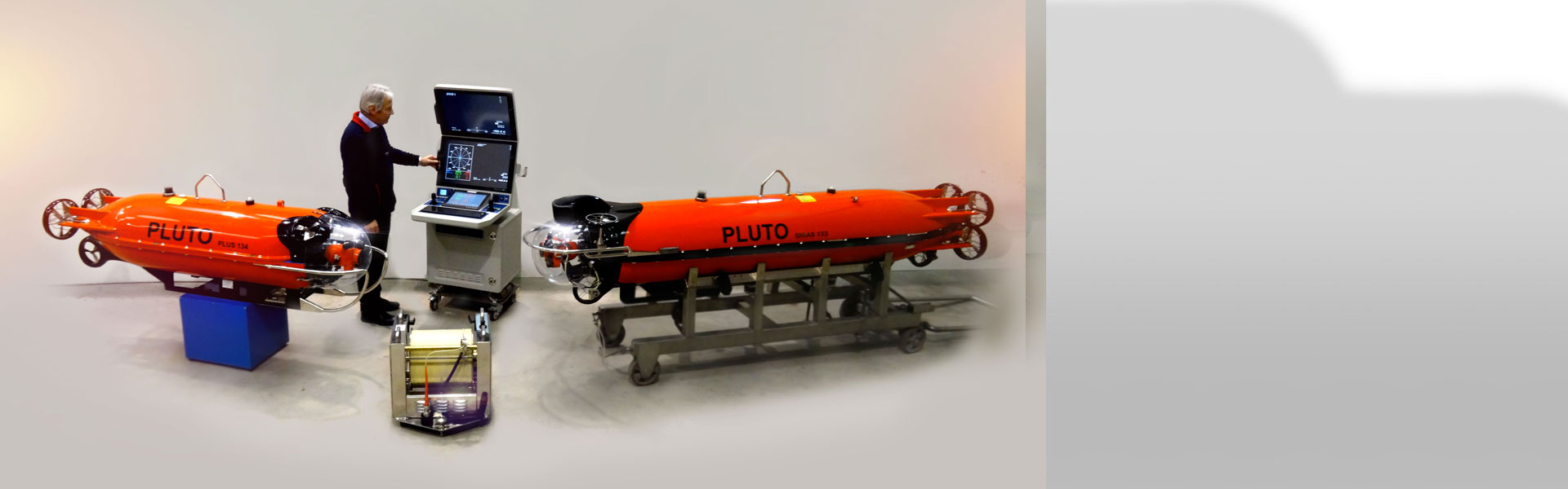 ROV system for defence and governmental applications