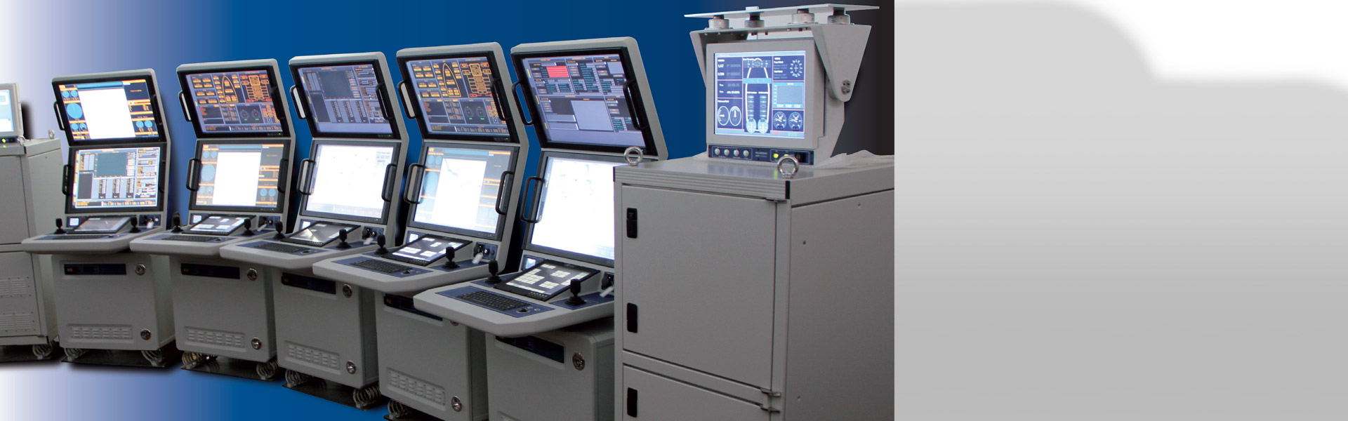Monitoring and Control Console Systems ROV